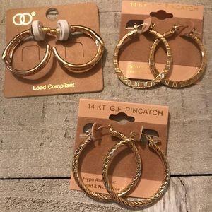 Jewelry - Hoop Earrings Bundle 💞